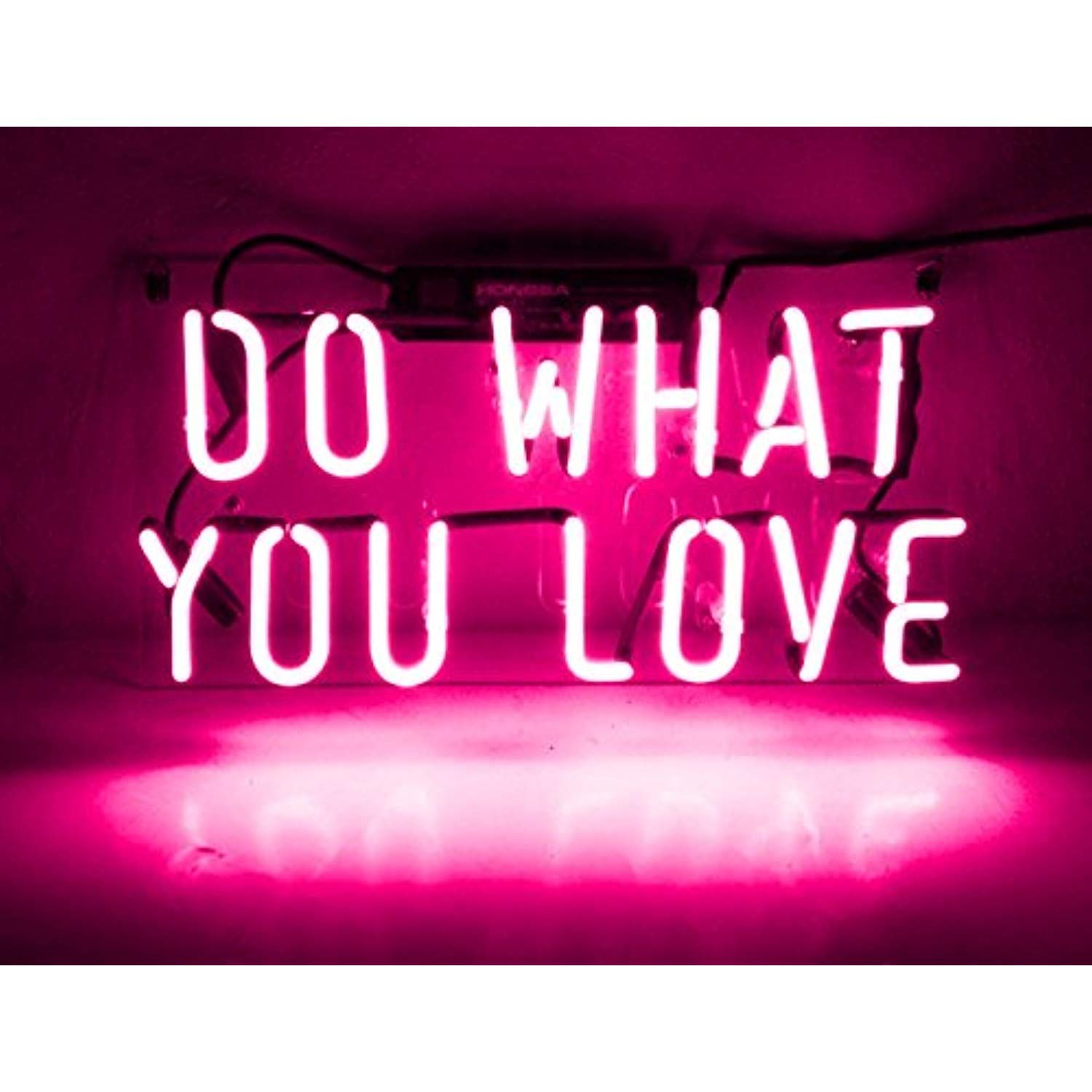 Neon Light Wall Sign Room Decor Personalized Gift Do What You Love For Girls Women Men Home Bedroom Beer Bar Neon Sign Bedroom Neon Wall Signs Cheap Neon Signs