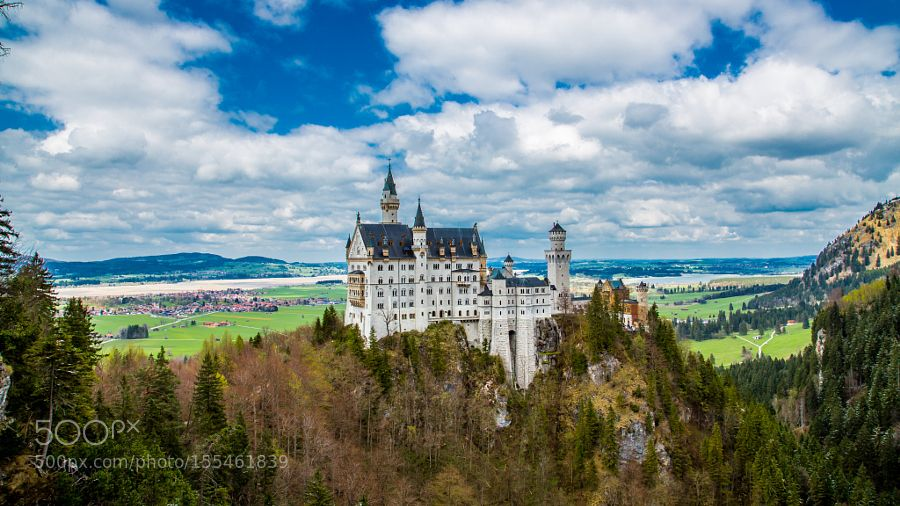 """Neuschwanstein Castle Go to http://iBoatCity.com and use code PINTEREST for free shipping on your first order! (Lower 48 USA Only). Sign up for our email newsletter to get your free guide: """"Boat Buyer's Guide for Beginners."""""""