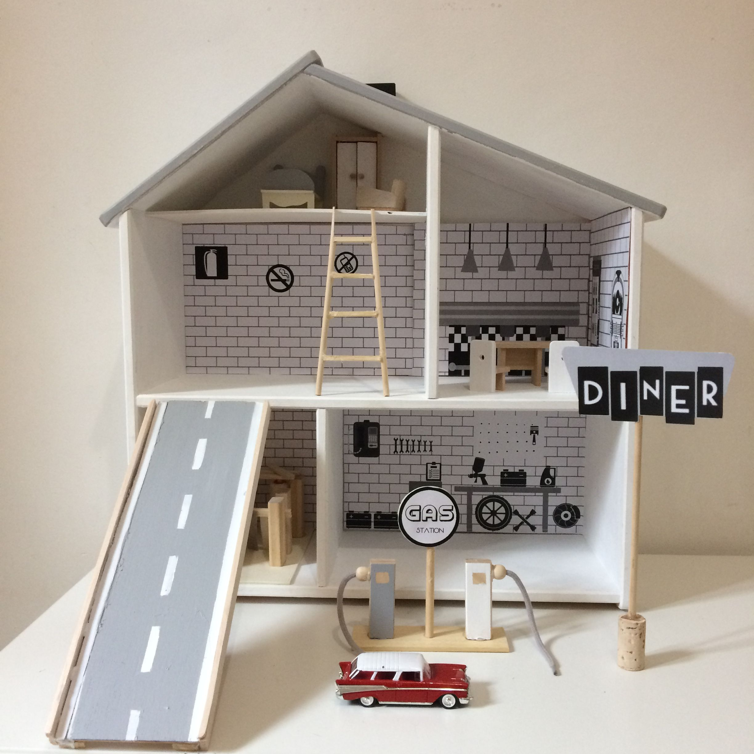 Dollhouse For Boys Ikea Flisat My Diy Pinterest Doll  ~ Maison De Poupéé En Bois A Faire Soi Meme