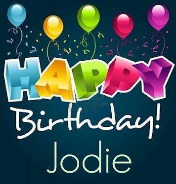 Jodie Grainger | Happy birthday greetings, Happy birthday pictures ...