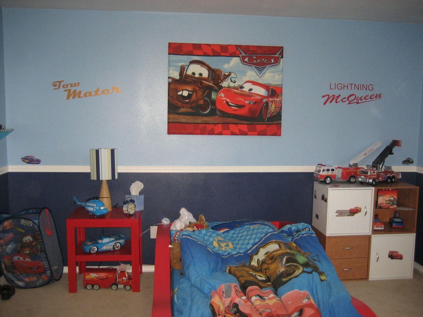 78+ Lightning Mcqueen Bedroom Decorating Ideas - Modern Bedroom Interior Design Check more at  & 78+ Lightning Mcqueen Bedroom Decorating Ideas - Modern Bedroom ...