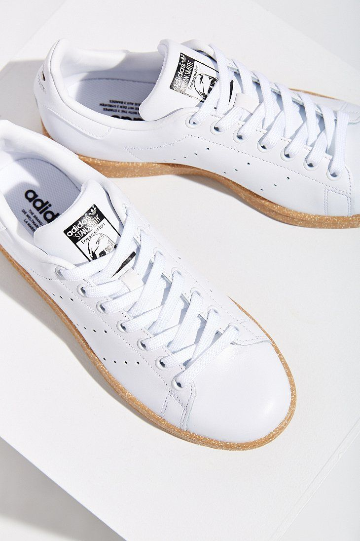 the best attitude 015bb 96312 2018 Stan Adidas Gum Sneakers Ta Hot Smith With En Def White vAAUnROqw