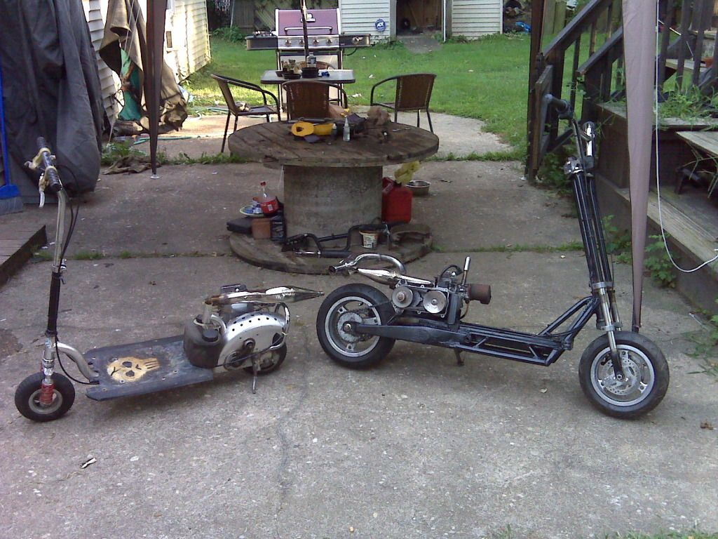 Goped #Homemade | 50CC Scooters | Kick scooter, Trike
