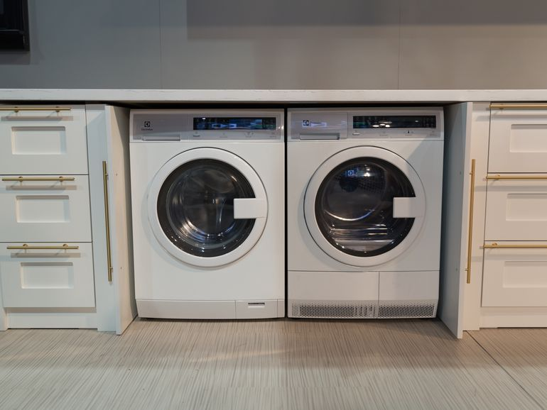 Electrolux Front Load Compact Washer & Dryer EIED200QSW | Washer ...