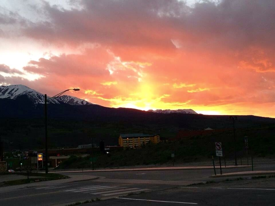 Sunset Dillon, CO