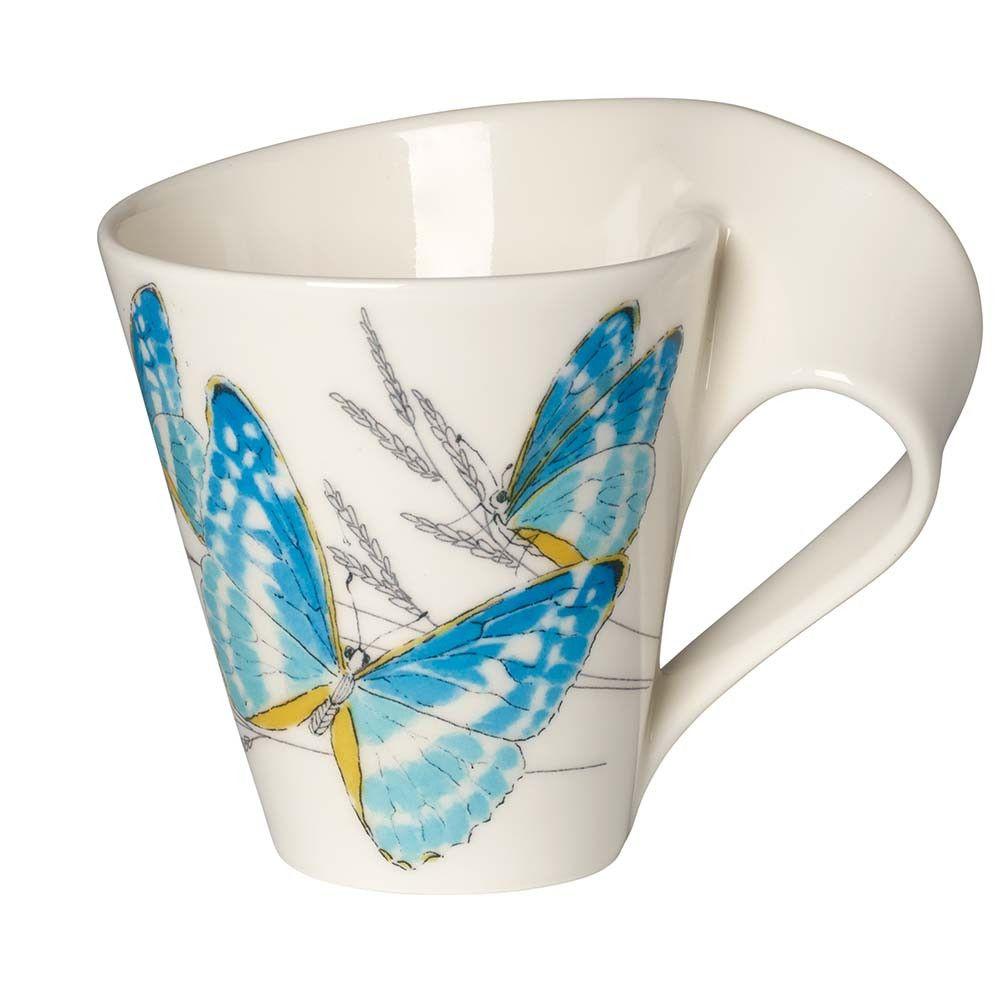 Villeroy Boch Newwave Caffe Mug Butterfly Mugs Villeroy Boch Caffe