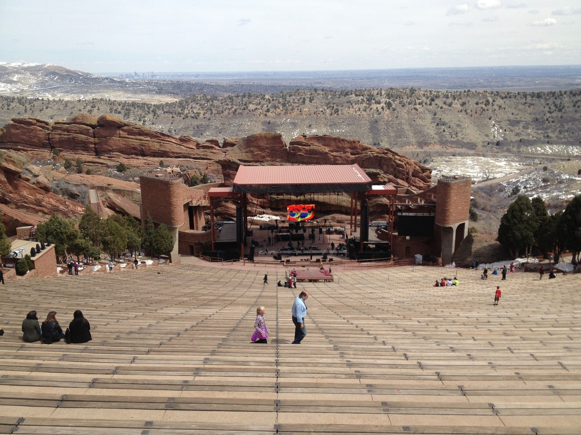 Not In Denver But A Quick Drive To Check Out The Coolest Music Venue Ever You Can Also Find A Hike The Area Grab A Visit Denver Amphitheater Denver Colorado