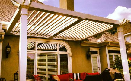 Arcadia Louvered Roof Outdoor Pinterest Outdoor
