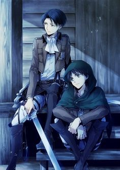 Attack on Titan | Rivaille (Levi) & Eren
