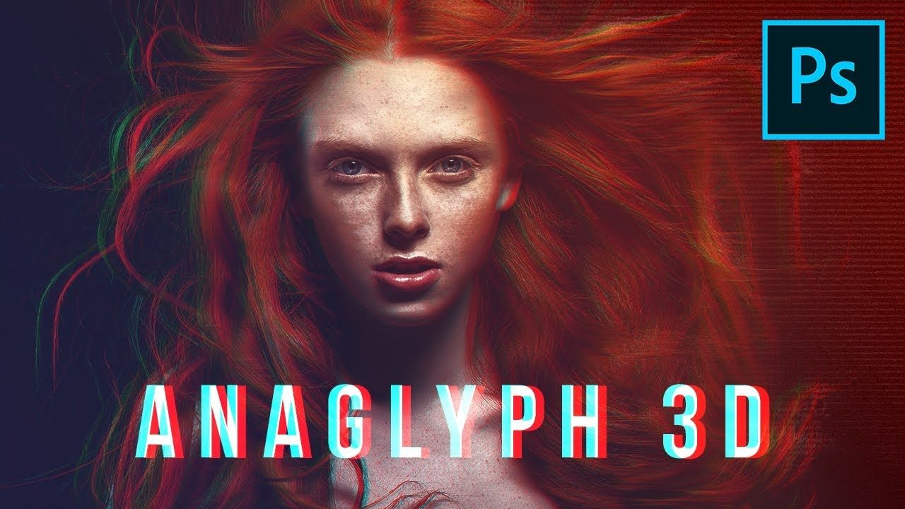 Actually Understanding Anaglyph 3d Effect In Photoshop Photoshop Video Tutorials Photoshop Tutorial Photoshop