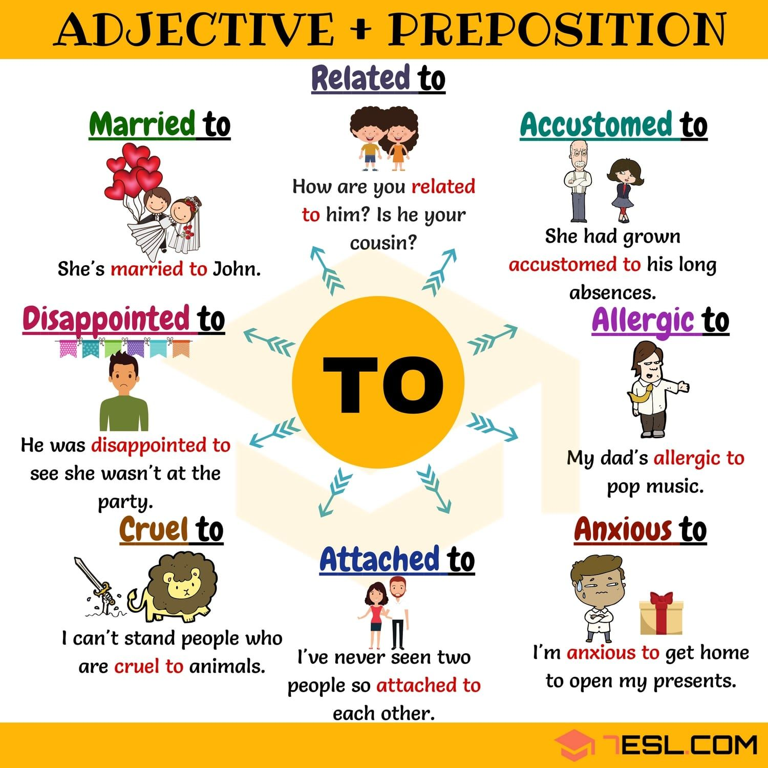 Adjective To 50 Useful Adjective Collocations With To
