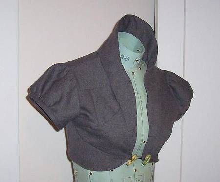 FREE Edwardian Bolero Sewing Pattern and Tutorial | Sewing ideas and ...