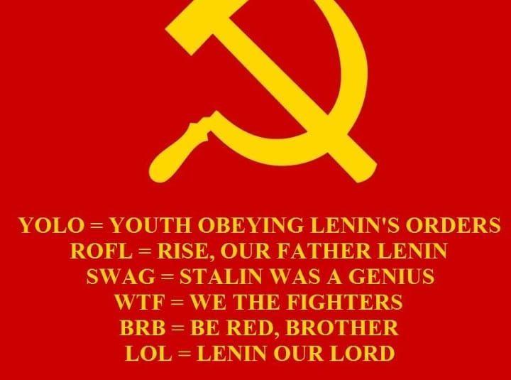Internet slang has been proof of COMMUNIST PROPAGANDA all ...