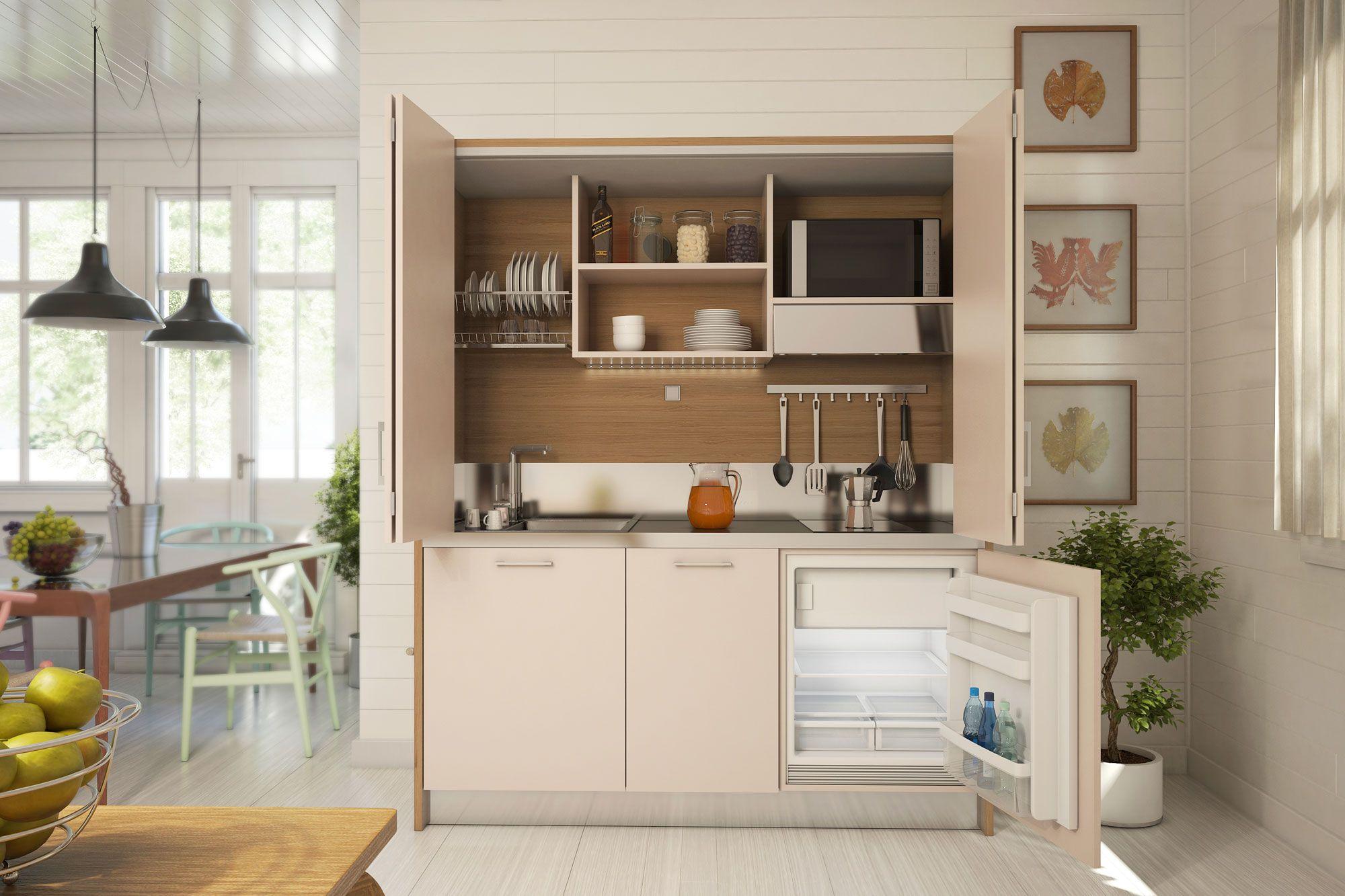 creiamo arredi per piccoli spazi (casa o ufficio): cucine ... - Cucina Piccoli Spazi