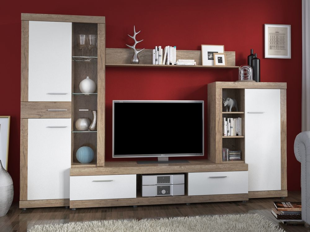 Wohnzimmer weiss grau holz ~ Ihr Traumhaus Ideen - wandgestaltung wohnzimmer braun grau