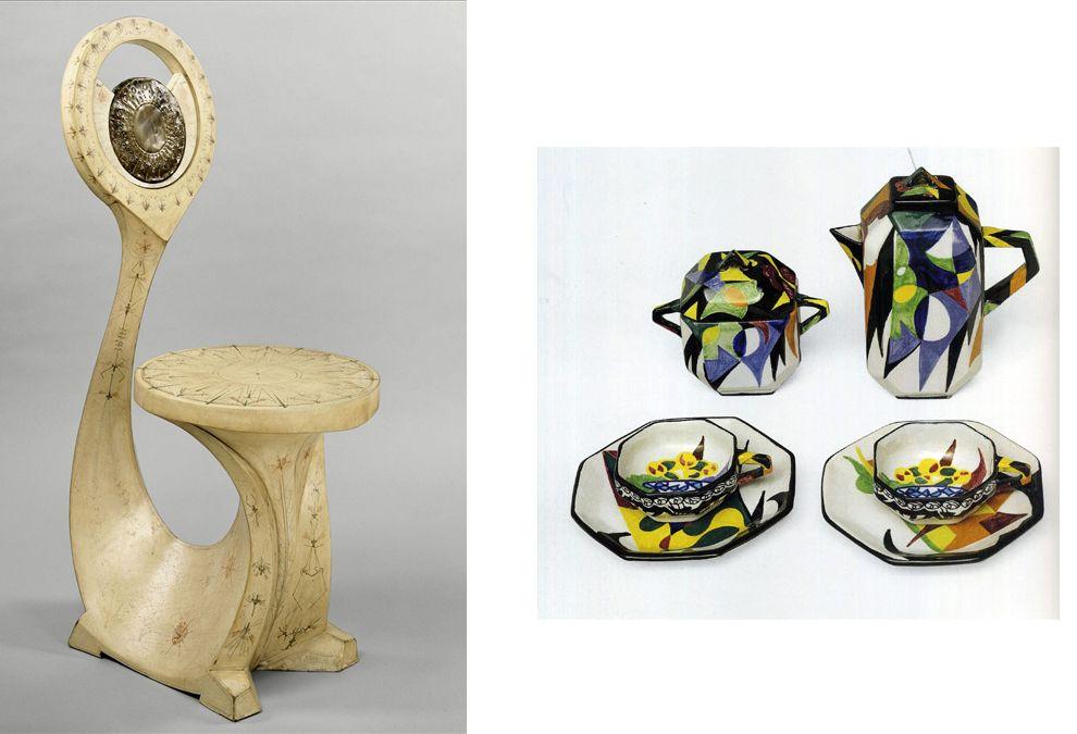 giacomo balla sedia | sx sedia zoomorfa in legno rivestito con pergamena dipinta, Carlo ...