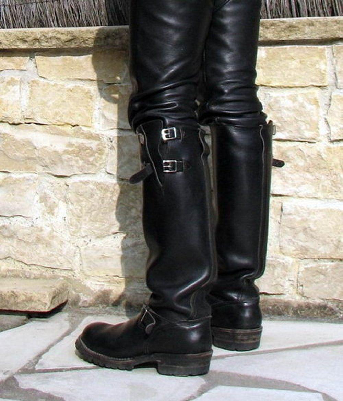 Gay belgique cuir leather boots pinterest