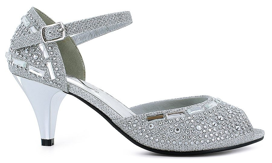 cf965c22a5e Stunning It's OK® Tavia:<br/>synthetic glitter fabric upper ...