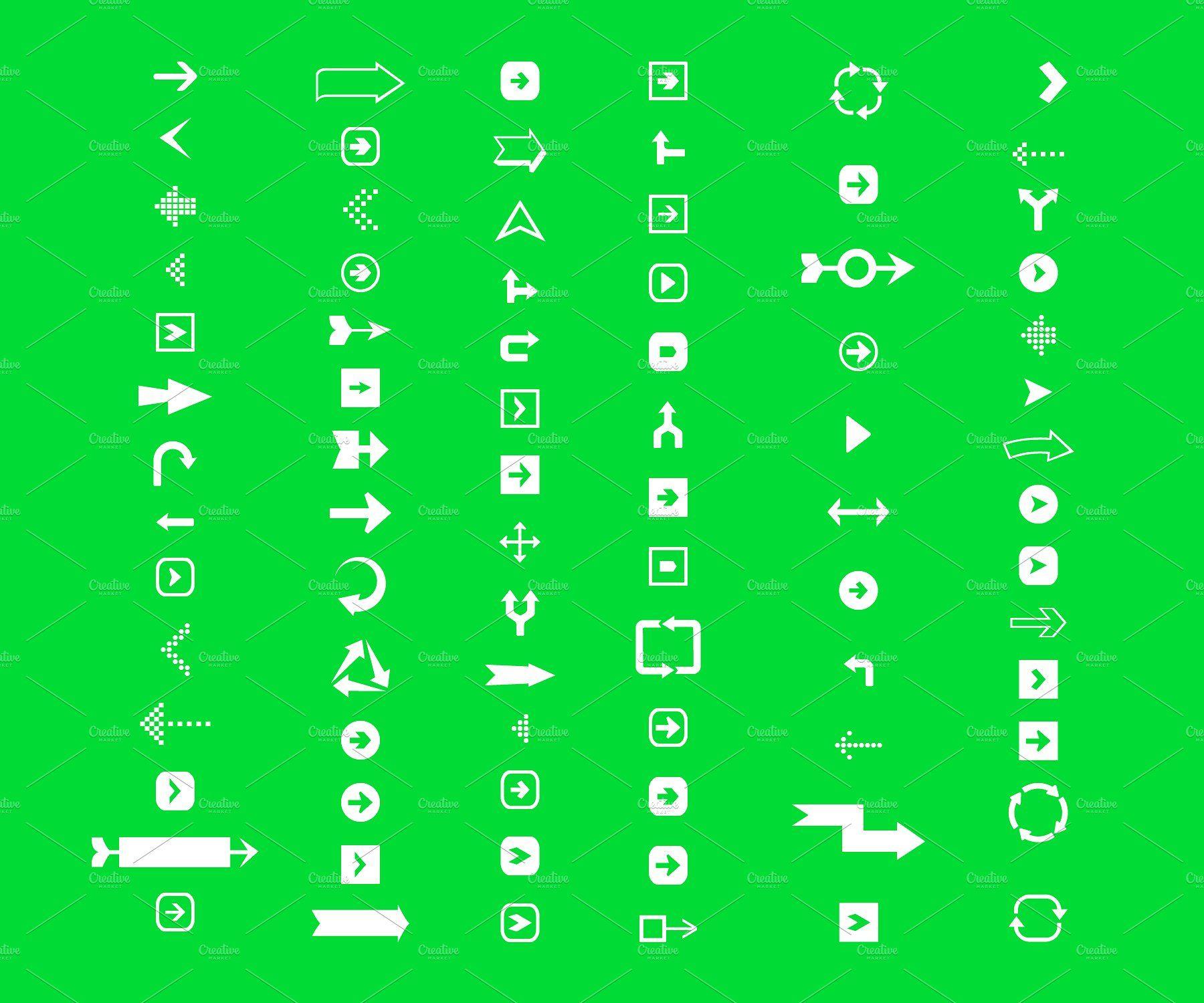 Mega Pack of Awesome Arrows Arrow design, Adobe
