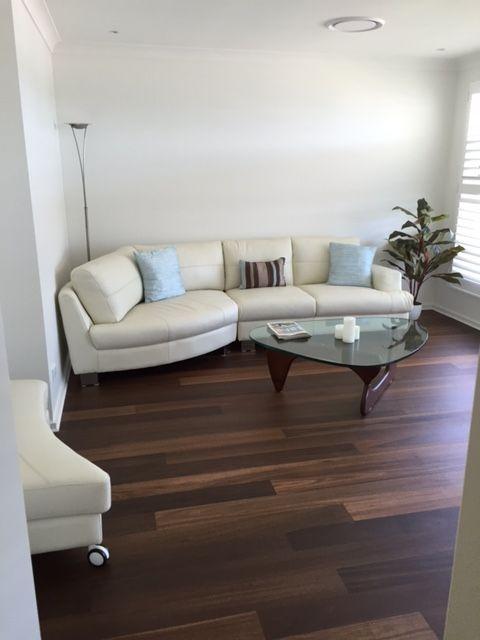 Prestige Grade Roasted Peat Solid Timber Floor 128mm x 14mm Floor finish LNL700a