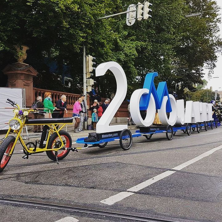 The Unimoke At The 200 Years Bike Festival In Munich With A Great