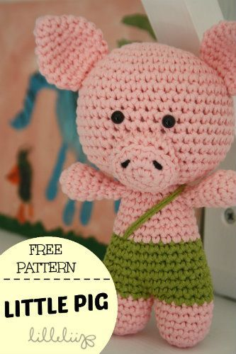Little pig - free pattern by lilleliis | Amigurumis | Pinterest