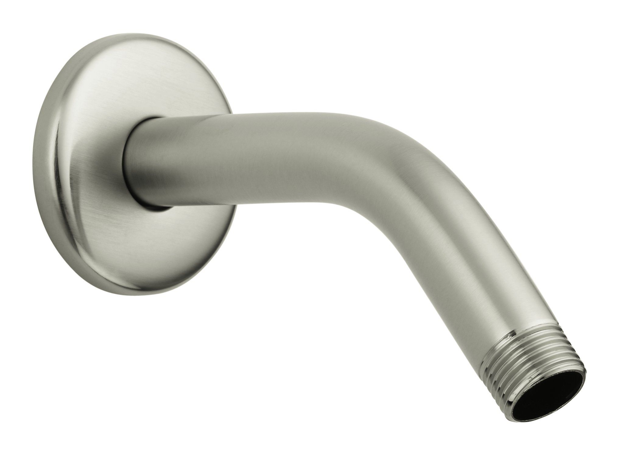 Hansgrohe 27411823 Standard Shower Arm and Flange, 6-Inch, Brushed ...