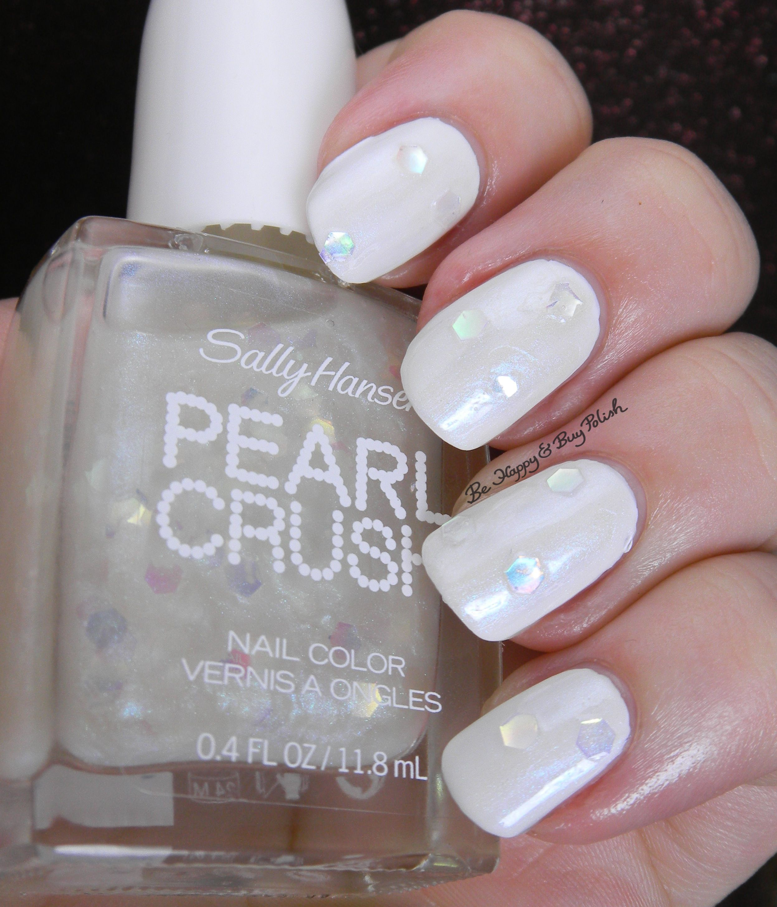 Sally Hansen Pearl Crush Nail Polish Collection Partial -pin Exchange
