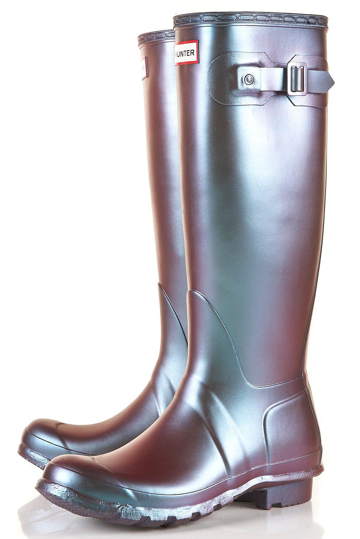 Footwear · Hunter Pearlised Wellies