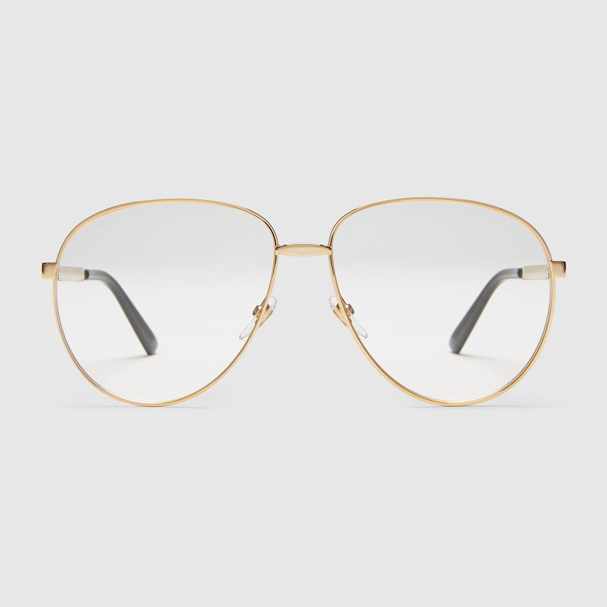 Aviator metal glasses with Web | Pinterest