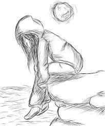 Afbeeldingsresultaat Voor Drawing Ideas Tumblr Sad Girl Art