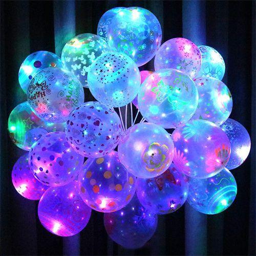 Vova 5Pcs Light Balloons Birthday Party Wedding Decor Decoration