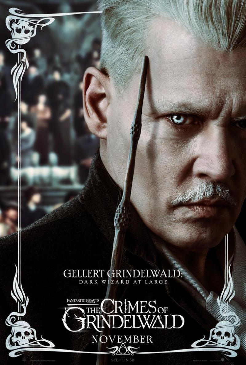 Novos Posteres De Animais Fantasticos Os Crimes De Grindelwald