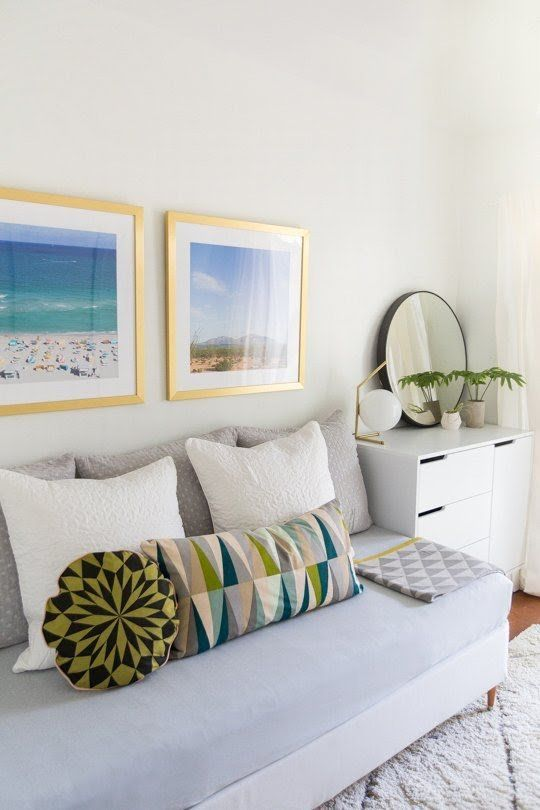 Turn Your Bed Into a Couch & Turn Your Bed Into a Couch | Sofa-cama | Pinterest | Room Bedroom ...