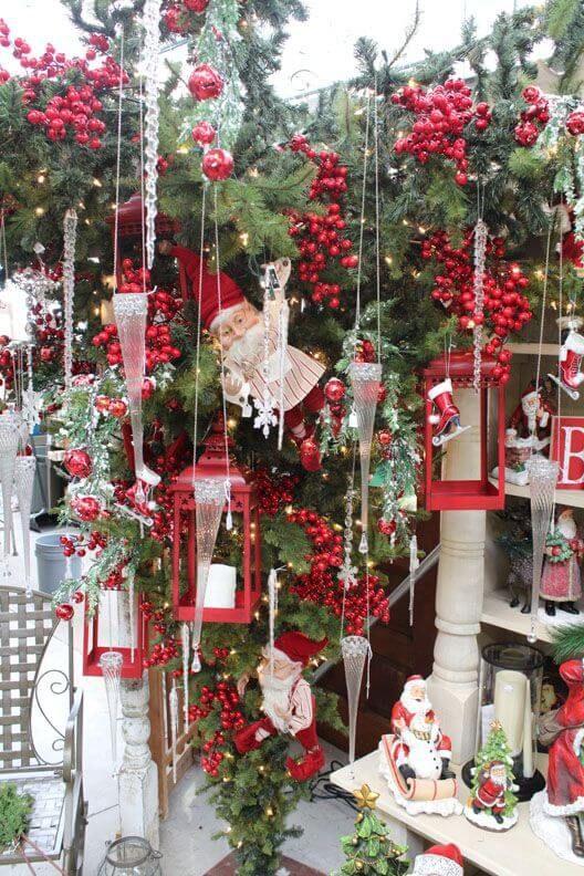 Upside Down Christmas Tree Ideas - 30 Beautiful Upside Down Christmas Tree Ideas Upside Down
