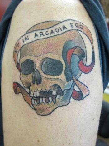 Αποτέλεσμα εικόνας για et in arcadia ego tattoo