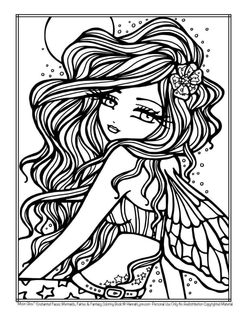 Pin By Penny Davis On Printables Mermaid Coloring Pages Fairy Coloring Pages Coloring Pages [ 1100 x 850 Pixel ]