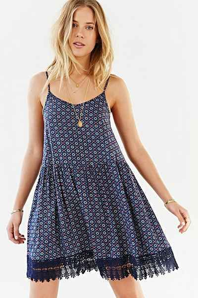 carefree spring dress - urban outfitters