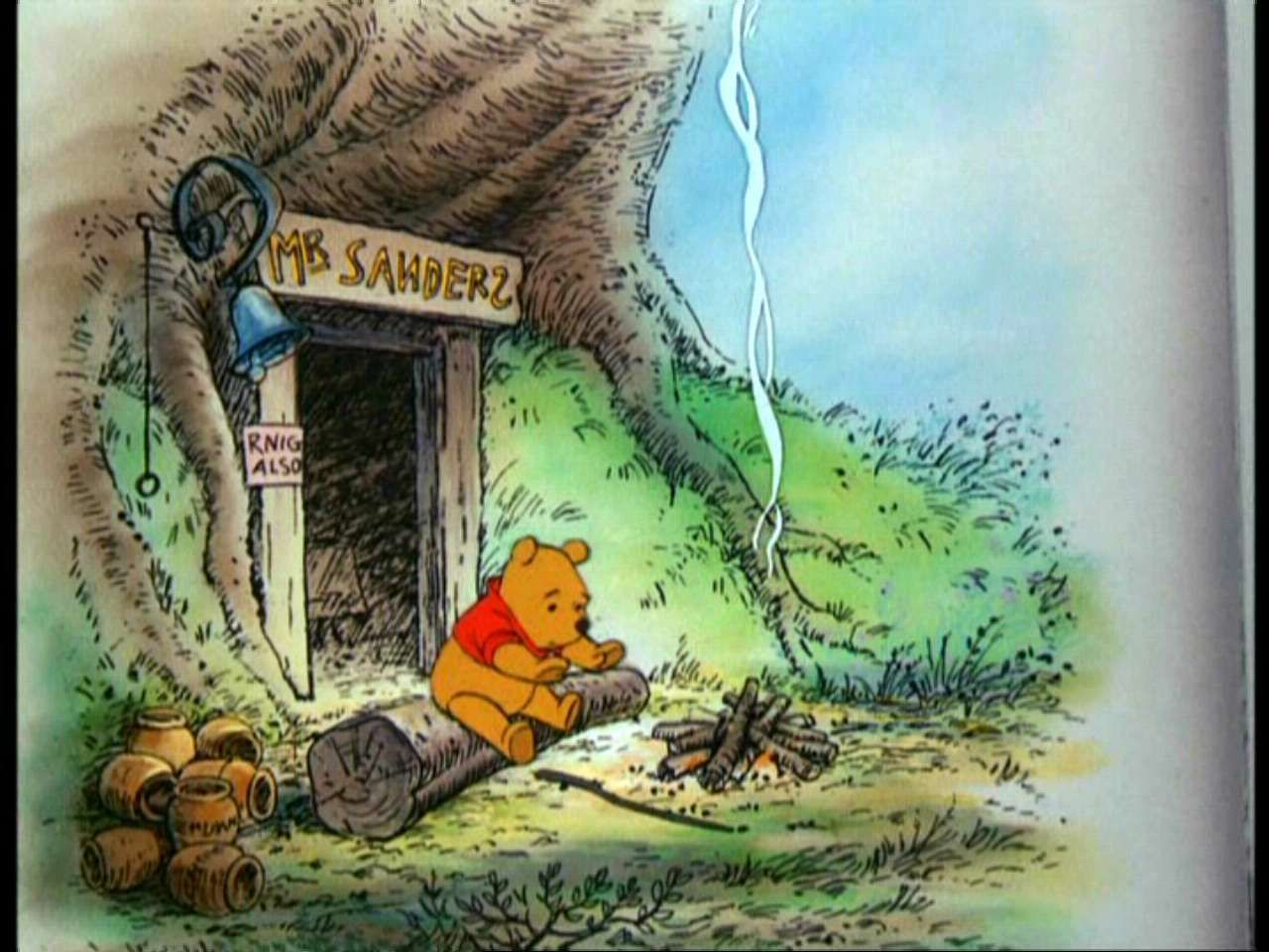 Winnie The Pooh Image Winnie The Pooh And The Hunny Tree Winnie The Pooh Pooh Pooh Bear
