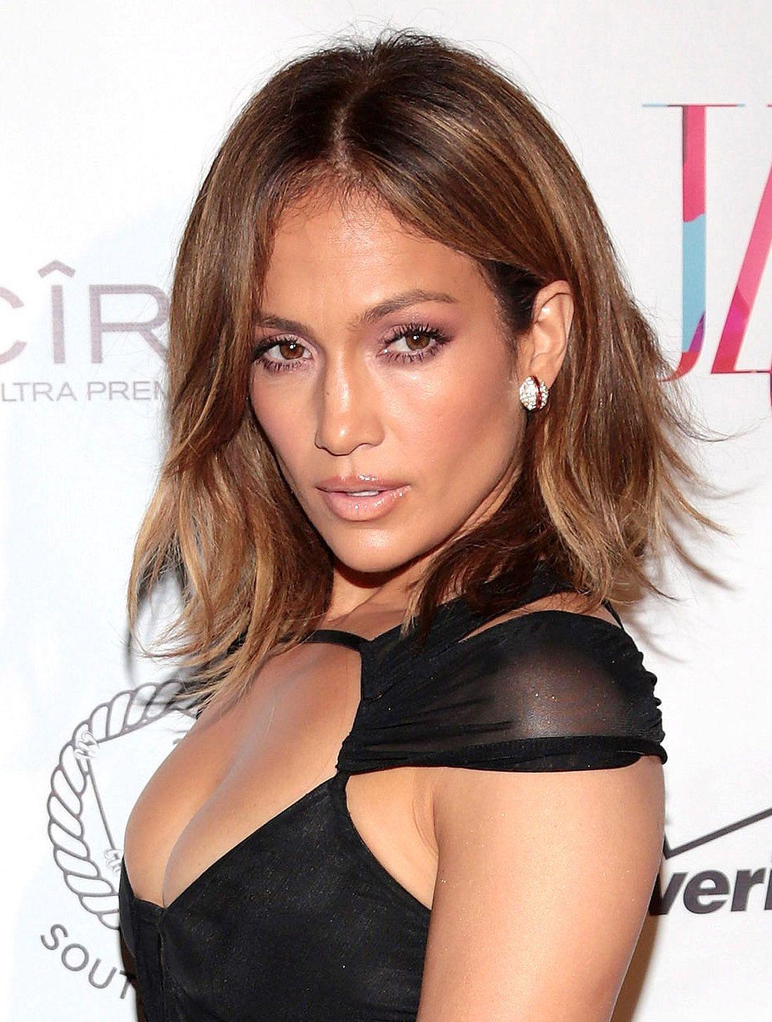 Jennifer Lopez Trendfarben 2015 Herbst Winter Perfekte Haarfarbe