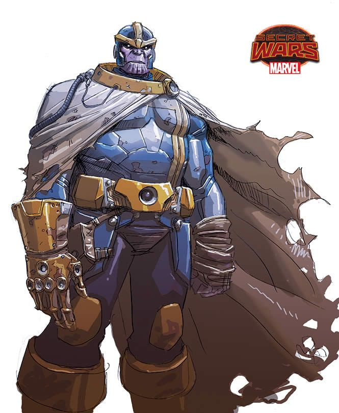 Infinity Gauntlet 1 Concept Designs By Dustin Weaver Thanos