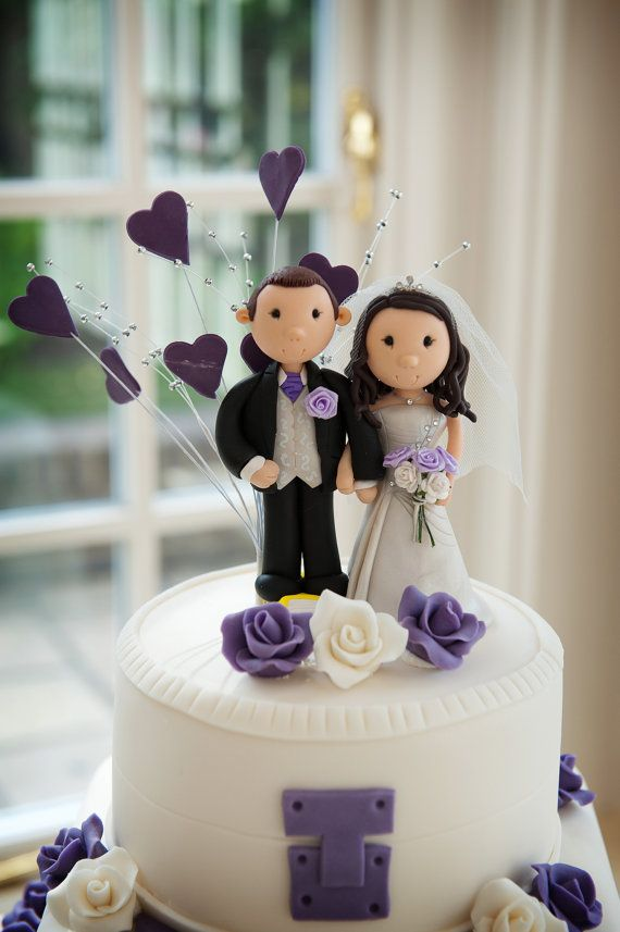 Cake Topper Ski WeddingWedding