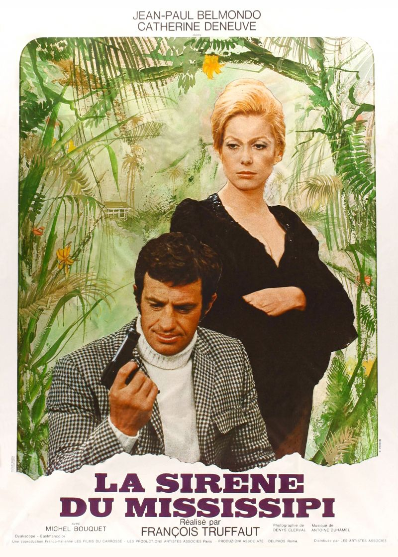 La Sirene Du Mississipi 1969 Dir Francois Truffaut Truffaut Deneuve Catherine Deneuve