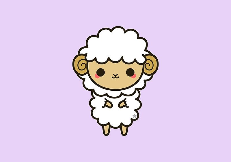 Cute Aries Illustration Buy This Artwork On Apparel Stickers Phone Cases And More