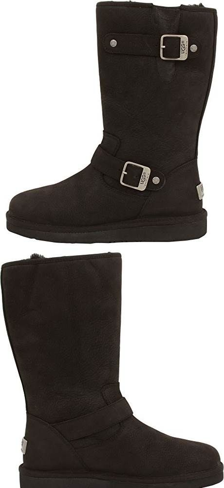 UGG Australia Womens Sutter Boot Black Size 8: My classic Ugg's are a size 10