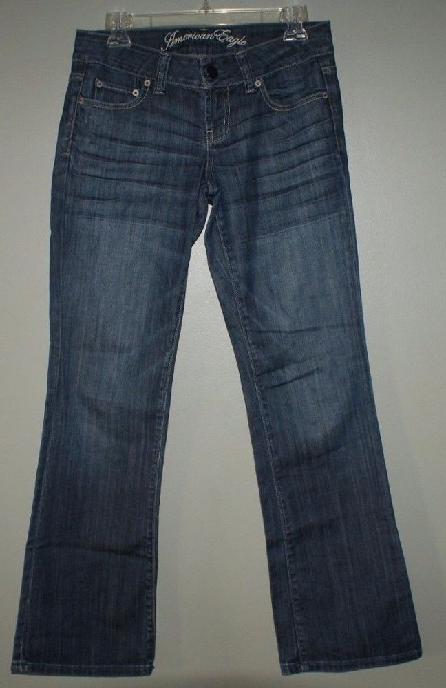 American Eagle Favorite Boyfriend jeans womens size 4 regular #AmericanEagleOutfitters #Boyfriend