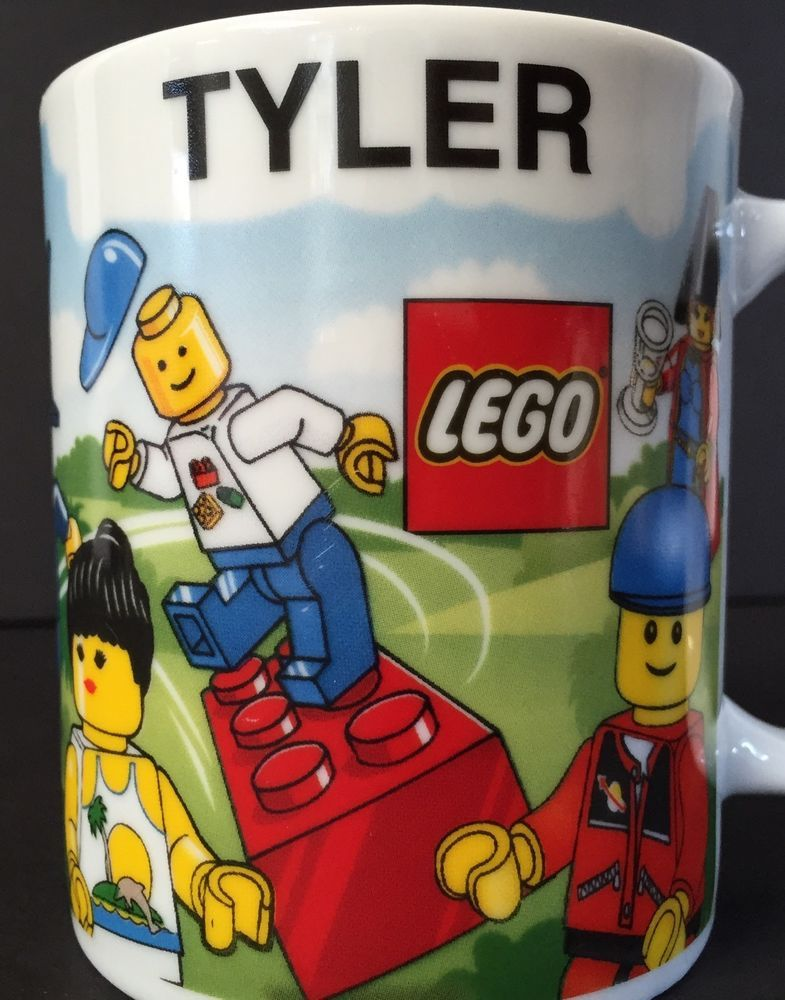 Lego Store Mall Of America Tyler 10 oz Personalized Mug Minifig ...