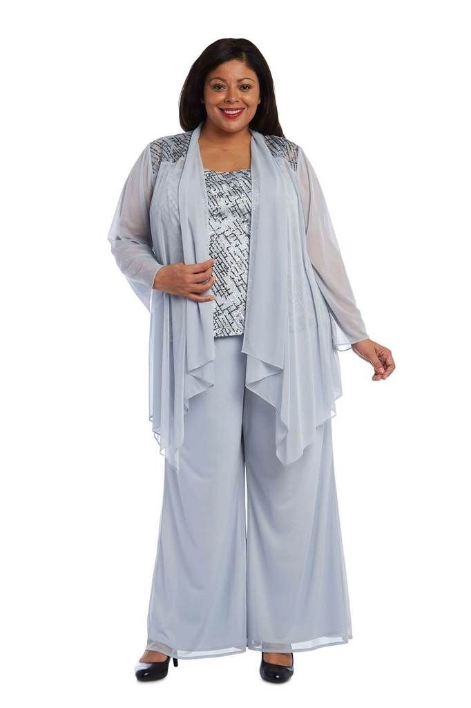 e1472966a6f R&M Richards Plus Size Mother of the Bride Pant Suit | wedding ...