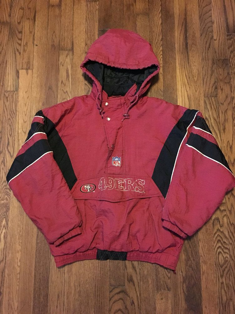 the latest 62bb0 1769d San Fransisco 49ers Starter Pro Line Pullover by ...