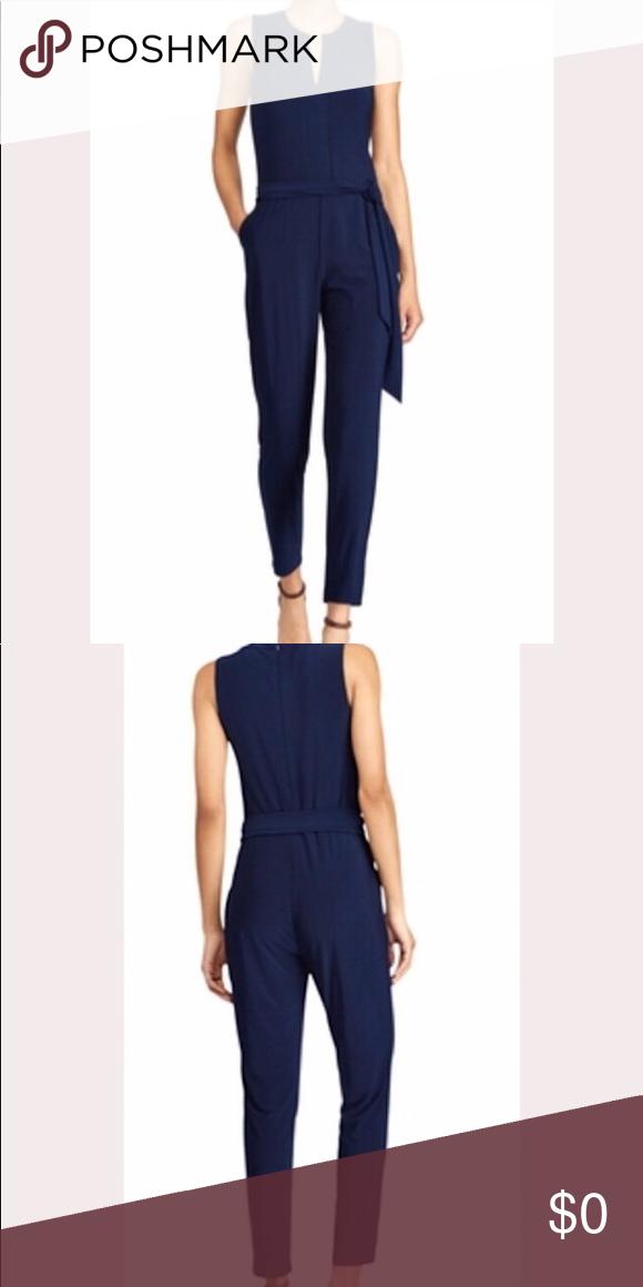 Ralph Lauren Nadalia Jumpsuit Nadalia jumpsuit from Lauren Ralph Lauren. Made from stretch jersey fo...
